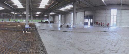Condulith-Industrieboden aus Beton Blog 24.000 qm Industrieboden