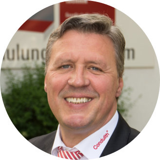 Condulith-Industrieboden Geschäftsführung leitet die Zentrale Verwaltung in Erftstadt