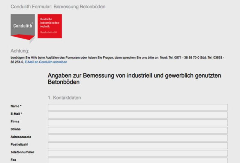 icon-anfrageformular - Condulith®