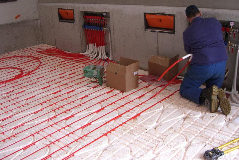 Condulith-Industrieboden System Heizung für Industrieböden