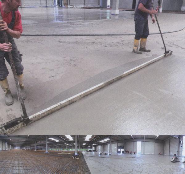 Condulith-Industrieboden Industrieboden für eine Stanzerei