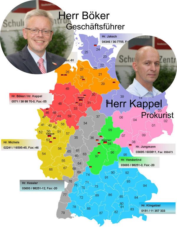 Ansprechpartner Industrieboden aus Beton Dietmar Böker und Alexander Kappel Condulith-Industrieboden