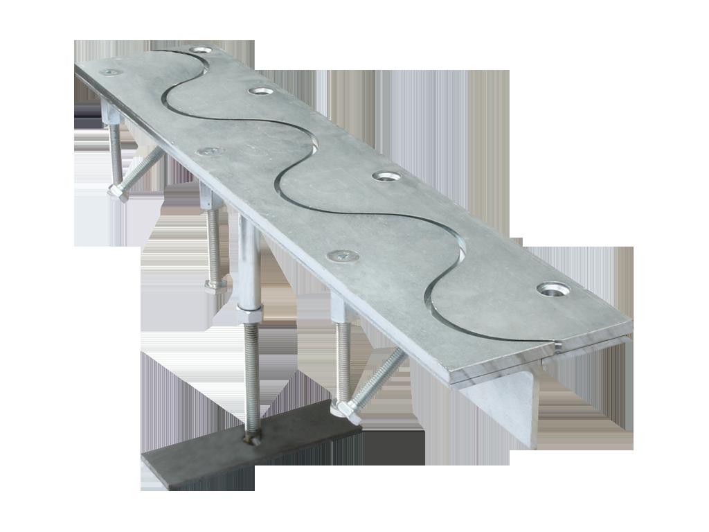 Condulith-Industrieboden Fugenprofile für Innenflächen KS AN Sinus
