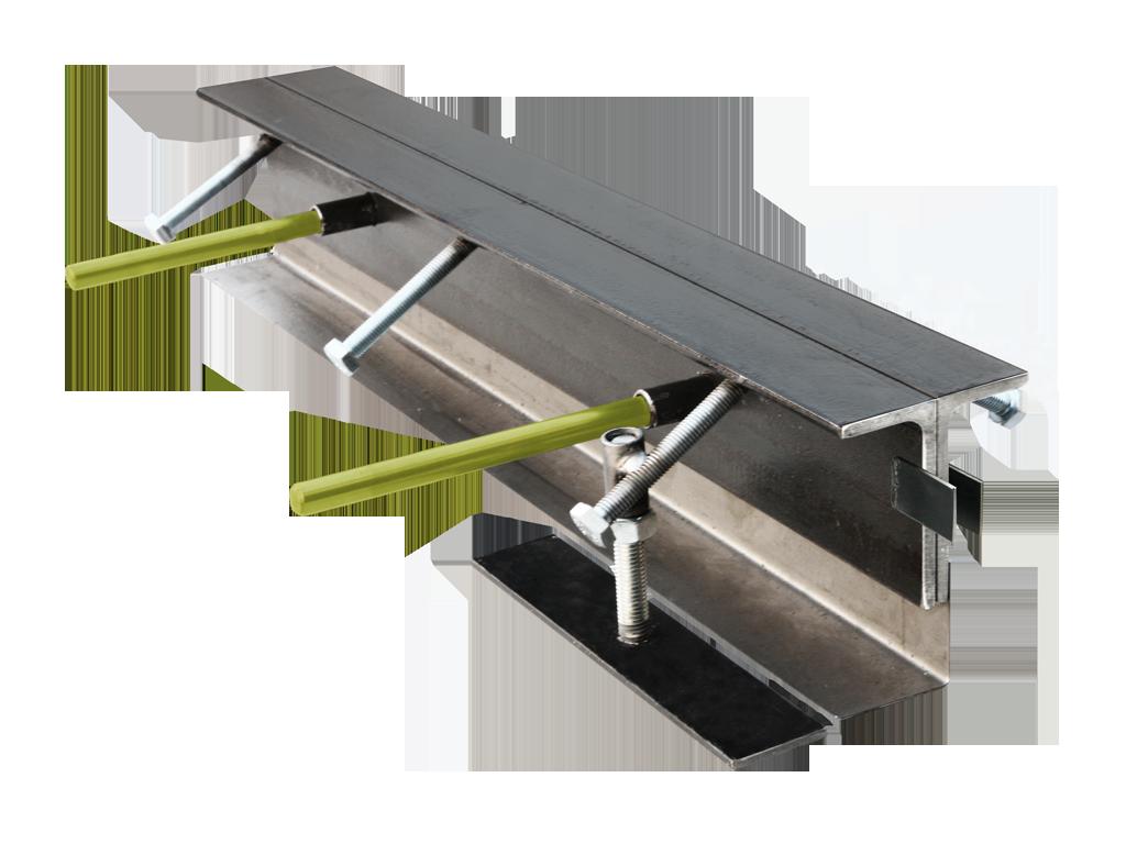 Condulith-Industrieboden Fugenprofile für Innenflächen KS AW