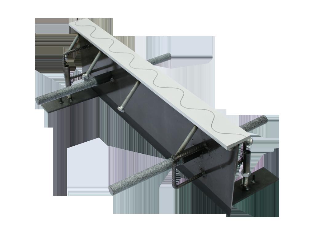 Condulith-Industrieboden Fugenprofile für Innenflächen TDS 170+ Sinus A60nus