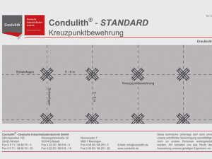 Condulith-industrieboden Menü Technische Daten