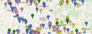 Condulith-Industrieboden Google Maps Karte Bautennachweise