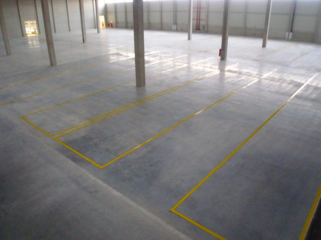 Condulith Industrieboden eingebauter Industrieboden