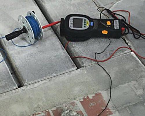 Elektrostatische Ableitung Betonoberflächen unser Partner cfe-service Ansprechpartner Herr Boschmann
