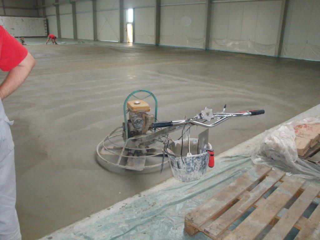 Condulith Industrieboden Betonplatte
