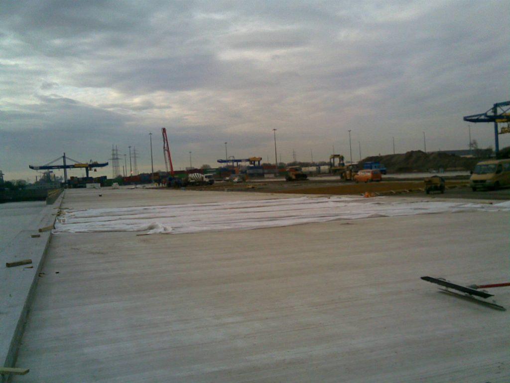 Condulith Industrieboden Baustelle WEC Emden