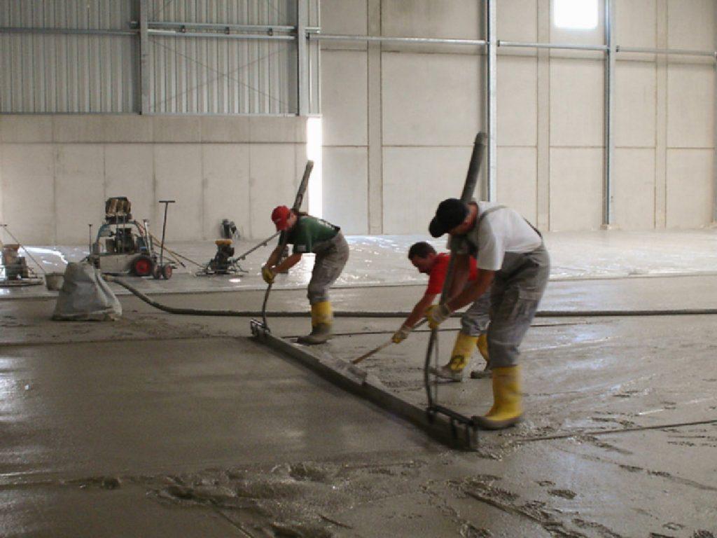 Condulith Industrieboden Betonieren