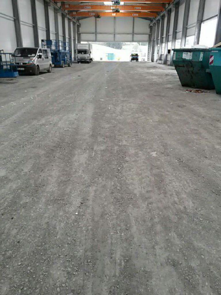 Condulith Industrieboden Betonieren Unterbau
