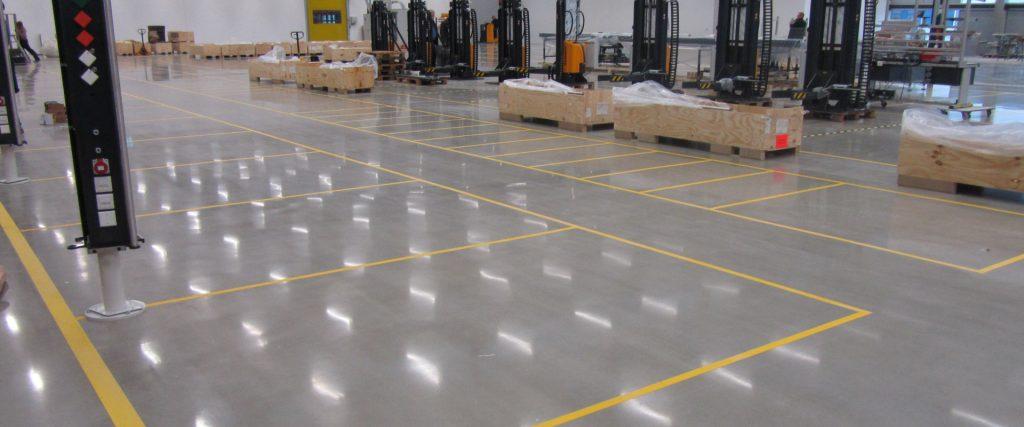 Condulith Industrieboden Lagerhalle Condulith Premium Industrieboden