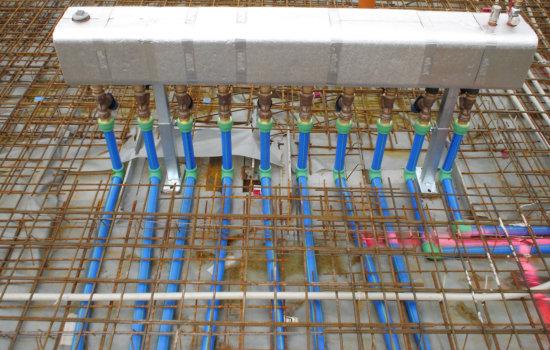 Condulith Industrieboden Industriefußbodenheizung