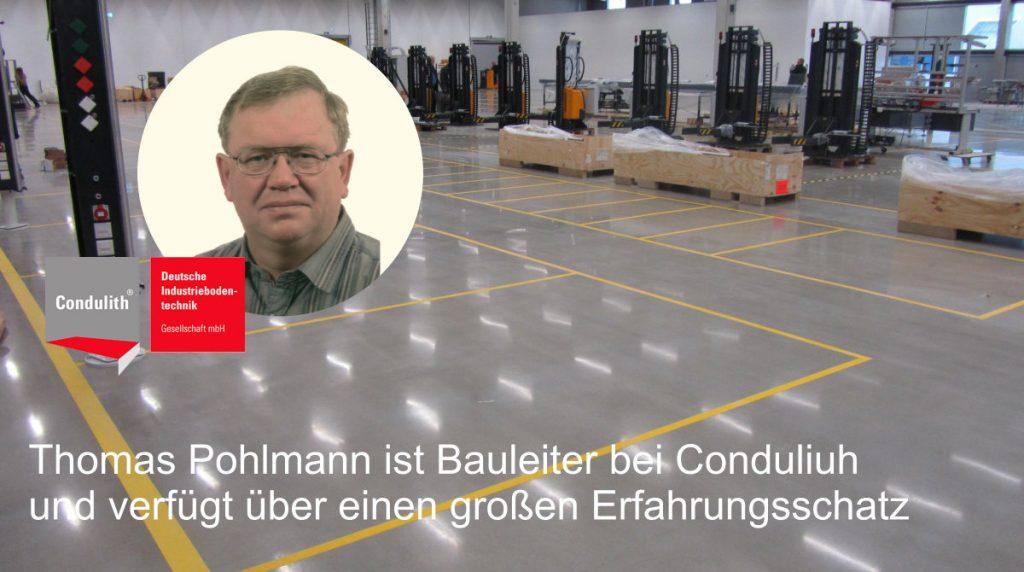 Condulith-Industrieboden Fugenloser Induatrieboden, was ist das