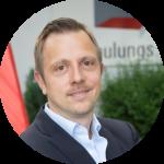 Condulith-Industrieboden Bauleiter Martin Pero