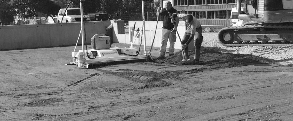 Condulith-Indusztrieboden Industrieboden Vorbereitunmg Einbau