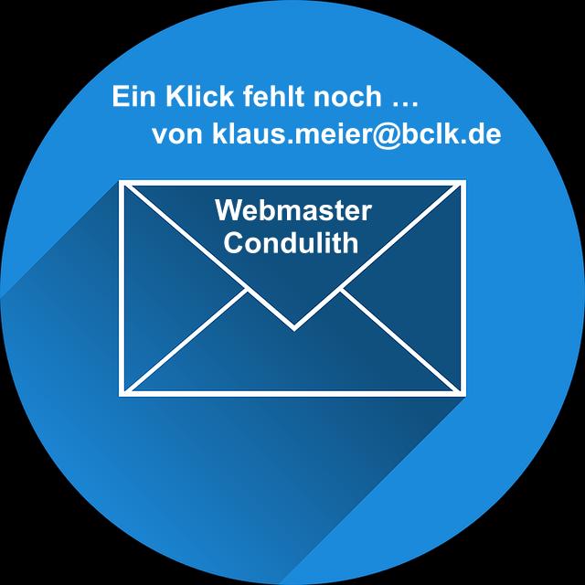 E-Mail an Condulith senden