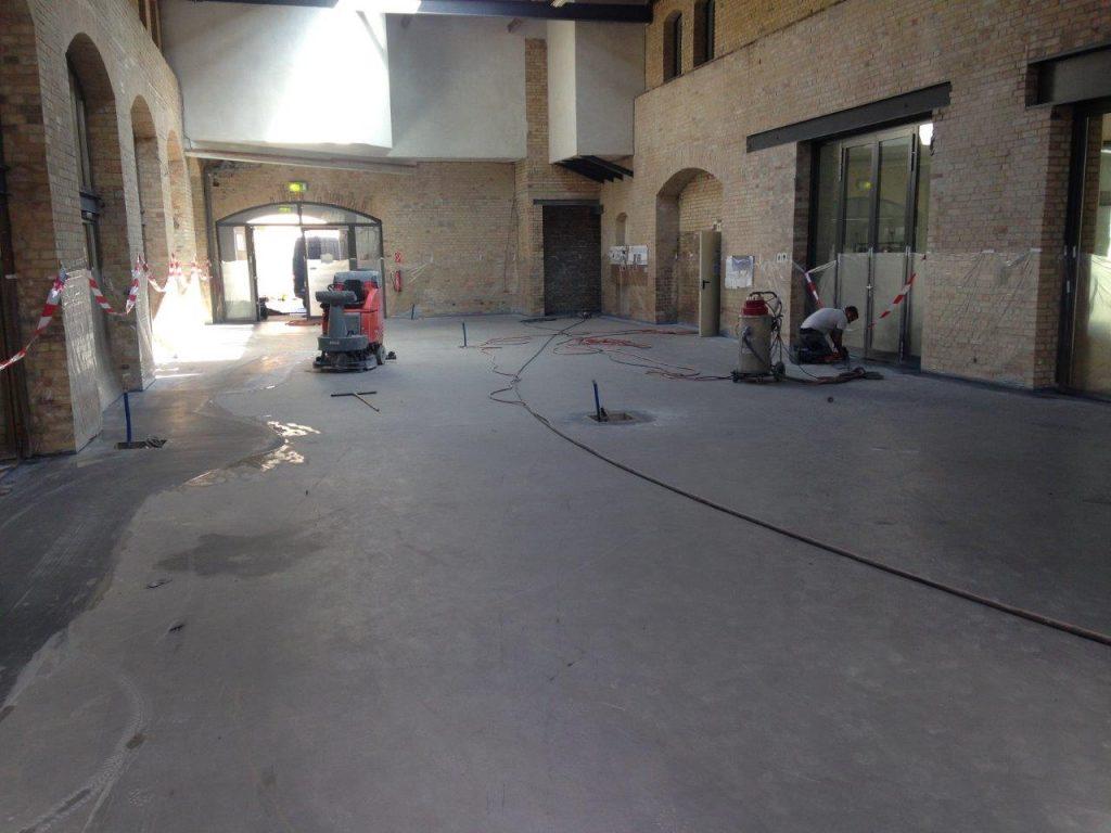 Condulith-Industrieboden Stahlfaser-Betonsohle mit integrierter Flächenheizung
